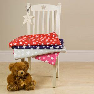 Children's 100% cotton star bedding