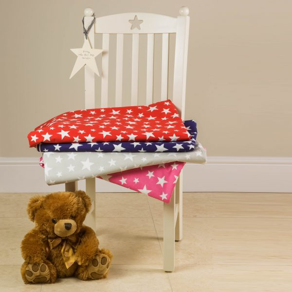 Children's 100% cotton star bedding