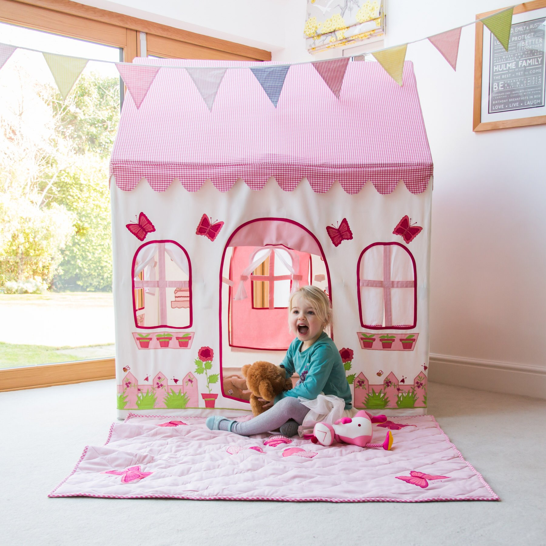 Rose Cottage Kiddiewinkles Cotton Playhouse