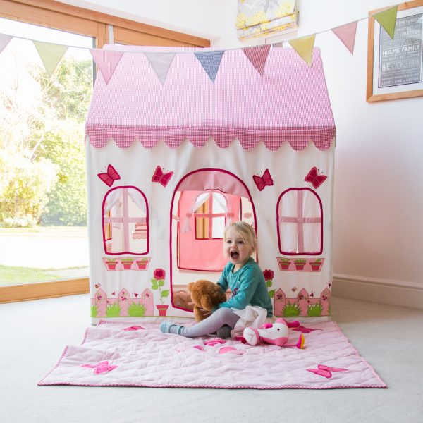 Rose Cottage Kiddiewinkles Children's Cotton Playhouse