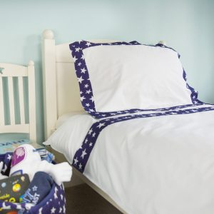 Kiddiewinkles Blue Star Bedding Set