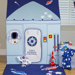 Blast off with this Space & Rocket Playtent