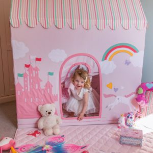 Kiddiewinkles Pink Girls Playtent