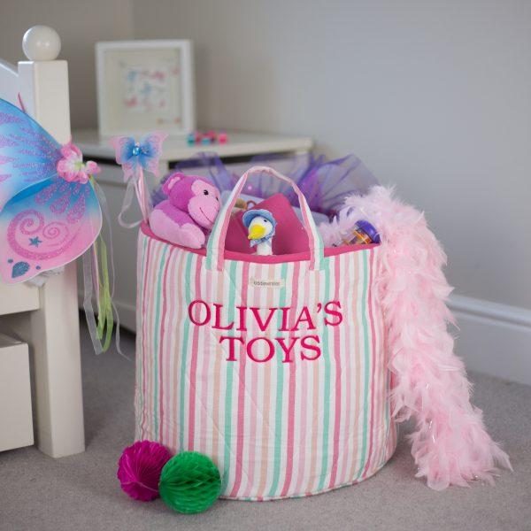 children's toy storage basket