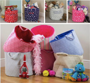 Kiddiewinkles Children's Toy Storage Baskets