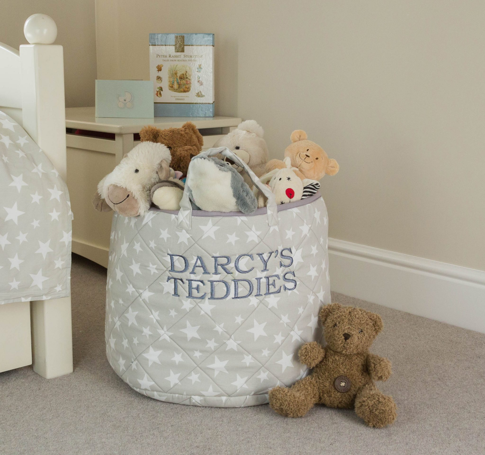 100% Cotton Toy Storage Basket