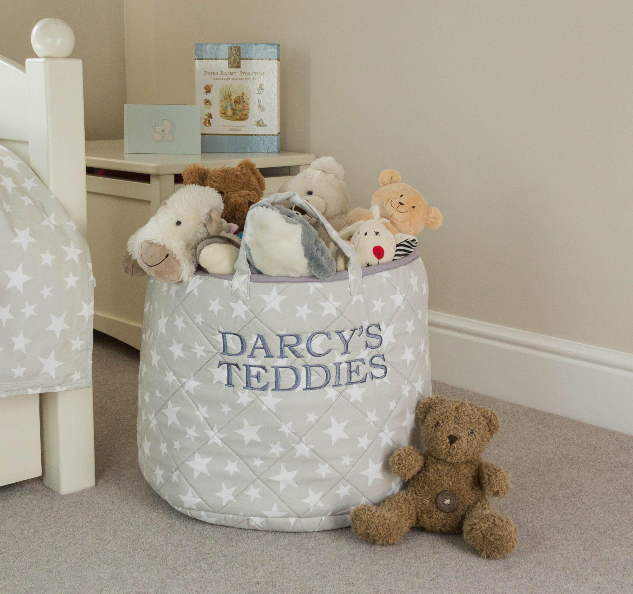 100% Cotton Toy Storage Basket